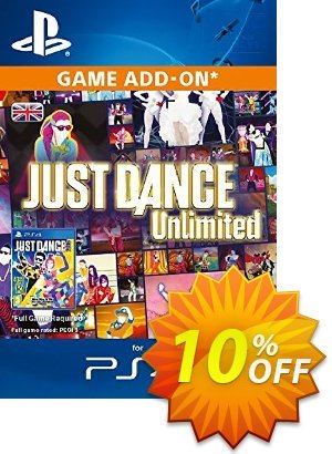Just Dance Unlimited 12 months PS4 優惠券,折扣碼 Just Dance Unlimited 12 months PS4 Deal,促銷代碼: Just Dance Unlimited 12 months PS4 Exclusive Easter Sale offer for iVoicesoft