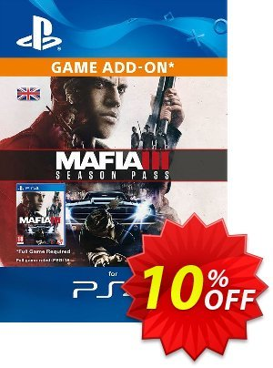 Mafia III 3 Season Pass PS4 discount coupon Mafia III 3 Season Pass PS4 Deal - Mafia III 3 Season Pass PS4 Exclusive Easter Sale offer for iVoicesoft