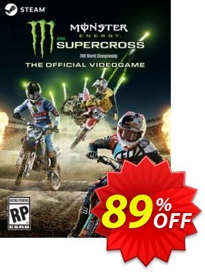 Monster Energy Supercross - The Official Videogame PC Coupon discount Monster Energy Supercross - The Official Videogame PC Deal - Monster Energy Supercross - The Official Videogame PC Exclusive offer for iVoicesoft