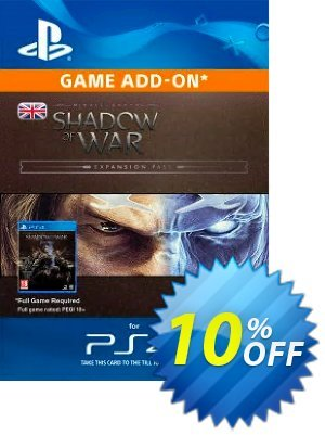 Middle-Earth: Shadow of War Expansion Pass PS4 discount coupon Middle-Earth: Shadow of War Expansion Pass PS4 Deal - Middle-Earth: Shadow of War Expansion Pass PS4 Exclusive Easter Sale offer for iVoicesoft