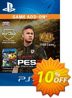 PES 2016 - 1050 myClub Coins PS4 discount coupon PES 2016 - 1050 myClub Coins PS4 Deal - PES 2016 - 1050 myClub Coins PS4 Exclusive Easter Sale offer for iVoicesoft