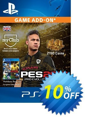 PES 2016 - 2150 myClub Coins PS4 discount coupon PES 2016 - 2150 myClub Coins PS4 Deal - PES 2016 - 2150 myClub Coins PS4 Exclusive Easter Sale offer for iVoicesoft