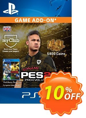 PES 2016 - 5800 myClub Coins PS4 discount coupon PES 2016 - 5800 myClub Coins PS4 Deal - PES 2016 - 5800 myClub Coins PS4 Exclusive Easter Sale offer for iVoicesoft
