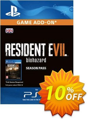 Resident Evil 7 - Biohazard Season Pass PS4 discount coupon Resident Evil 7 - Biohazard Season Pass PS4 Deal - Resident Evil 7 - Biohazard Season Pass PS4 Exclusive Easter Sale offer for iVoicesoft