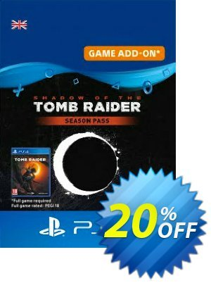 Shadow of the Tomb Raider - Season Pass PS4 discount coupon Shadow of the Tomb Raider - Season Pass PS4 Deal - Shadow of the Tomb Raider - Season Pass PS4 Exclusive Easter Sale offer for iVoicesoft