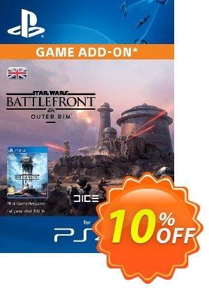 Star Wars Battlefront Outer Rim (DLC) PS4 優惠券,折扣碼 Star Wars Battlefront Outer Rim (DLC) PS4 Deal,促銷代碼: Star Wars Battlefront Outer Rim (DLC) PS4 Exclusive Easter Sale offer for iVoicesoft