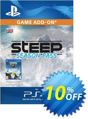 Steep Season Pass PS4 優惠券,折扣碼 Steep Season Pass PS4 Deal,促銷代碼: Steep Season Pass PS4 Exclusive Easter Sale offer for iVoicesoft