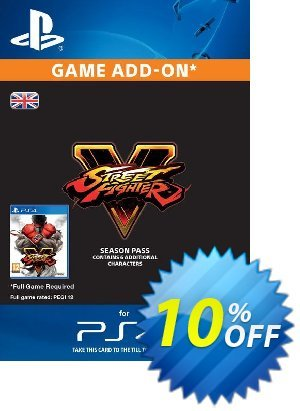 Street Fighter V 5 2016 - Season Pass PS4 優惠券,折扣碼 Street Fighter V 5 2016 - Season Pass PS4 Deal,促銷代碼: Street Fighter V 5 2016 - Season Pass PS4 Exclusive Easter Sale offer for iVoicesoft