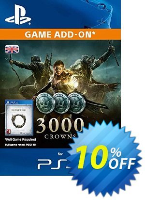 The Elder Scrolls Online - 3000 Crowns PS4 discount coupon The Elder Scrolls Online - 3000 Crowns PS4 Deal - The Elder Scrolls Online - 3000 Crowns PS4 Exclusive Easter Sale offer for iVoicesoft