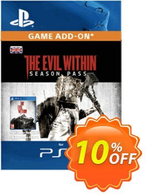 The Evil Within Season Pass PS4 discount coupon The Evil Within Season Pass PS4 Deal - The Evil Within Season Pass PS4 Exclusive Easter Sale offer for iVoicesoft