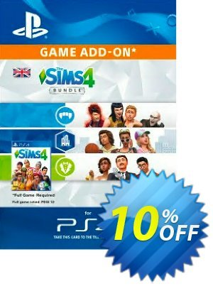 The Sims 4 - Bundle PS4 優惠券,折扣碼 The Sims 4 - Bundle PS4 Deal,促銷代碼: The Sims 4 - Bundle PS4 Exclusive Easter Sale offer for iVoicesoft