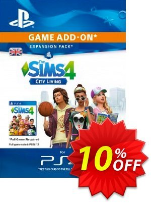 The Sims 4 - City Living Expansion Pack PS4 discount coupon The Sims 4 - City Living Expansion Pack PS4 Deal - The Sims 4 - City Living Expansion Pack PS4 Exclusive Easter Sale offer for iVoicesoft