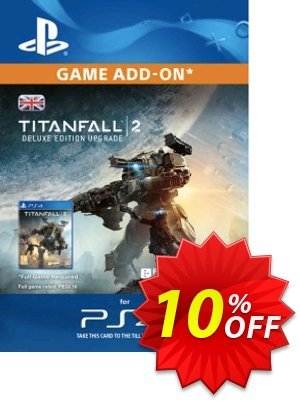 Titanfall 2 Deluxe Edition ADD-ON PS4 discount coupon Titanfall 2 Deluxe Edition ADD-ON PS4 Deal - Titanfall 2 Deluxe Edition ADD-ON PS4 Exclusive Easter Sale offer for iVoicesoft