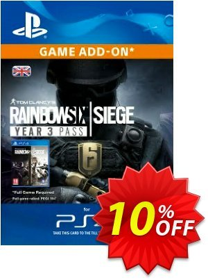 Tom Clancys Rainbow Six Siege: Year 3 Pass PS4 discount coupon Tom Clancys Rainbow Six Siege: Year 3 Pass PS4 Deal - Tom Clancys Rainbow Six Siege: Year 3 Pass PS4 Exclusive Easter Sale offer for iVoicesoft