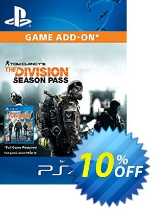 Tom Clancy's The Division Season Pass (EU) PS4 discount coupon Tom Clancy's The Division Season Pass (EU) PS4 Deal - Tom Clancy's The Division Season Pass (EU) PS4 Exclusive Easter Sale offer for iVoicesoft