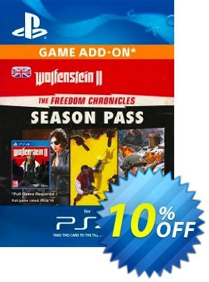Wolfenstein II 2: The Freedom Chronicles Season Pass PS4 discount coupon Wolfenstein II 2: The Freedom Chronicles Season Pass PS4 Deal - Wolfenstein II 2: The Freedom Chronicles Season Pass PS4 Exclusive Easter Sale offer for iVoicesoft