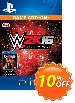 WWE 2K16 Season Pass PS4 優惠券,折扣碼 WWE 2K16 Season Pass PS4 Deal,促銷代碼: WWE 2K16 Season Pass PS4 Exclusive Easter Sale offer for iVoicesoft