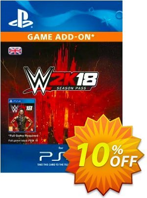 WWE 2K18 Season Pass PS4 discount coupon WWE 2K18 Season Pass PS4 Deal - WWE 2K18 Season Pass PS4 Exclusive Easter Sale offer for iVoicesoft