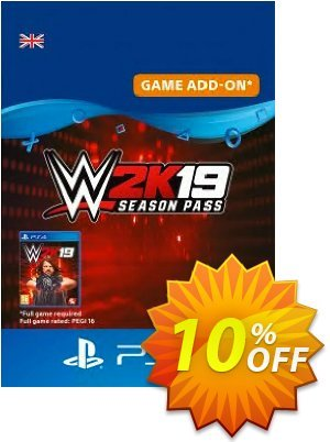 WWE 2K19 Season Pass PS4 Coupon, discount WWE 2K19 Season Pass PS4 Deal. Promotion: WWE 2K19 Season Pass PS4 Exclusive Easter Sale offer for iVoicesoft