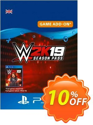 WWE 2K19 Season Pass PS4 discount coupon WWE 2K19 Season Pass PS4 Deal - WWE 2K19 Season Pass PS4 Exclusive Easter Sale offer for iVoicesoft