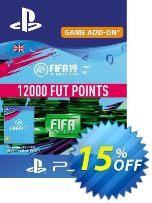 12000 FIFA 19 Points PS4 PSN Code - UK account discount coupon 12000 FIFA 19 Points PS4 PSN Code - UK account Deal - 12000 FIFA 19 Points PS4 PSN Code - UK account Exclusive Easter Sale offer for iVoicesoft