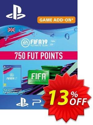 750 FIFA 19 Points PS4 PSN Code - UK account Coupon discount 750 FIFA 19 Points PS4 PSN Code - UK account Deal