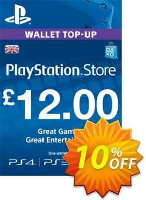 PlayStation Network Card - £12 (PS Vita/PS3/PS4) discount coupon PlayStation Network Card - £12 (PS Vita/PS3/PS4) Deal - PlayStation Network Card - £12 (PS Vita/PS3/PS4) Exclusive Easter Sale offer for iVoicesoft