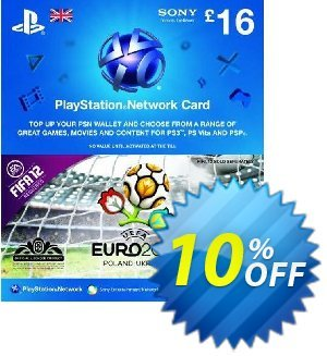 Playstation Network Card - £16 - Euro 2012 Branded discount coupon Playstation Network Card - £16 - Euro 2012 Branded Deal - Playstation Network Card - £16 - Euro 2012 Branded Exclusive Easter Sale offer for iVoicesoft