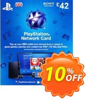 Playstation Network Card - £42 (PS Vita/PS3/PS4) discount coupon Playstation Network Card - £42 (PS Vita/PS3/PS4) Deal - Playstation Network Card - £42 (PS Vita/PS3/PS4) Exclusive Easter Sale offer for iVoicesoft
