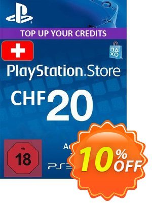 PlayStation Network (PSN) Card - 20 CHF (Switzerland) discount coupon PlayStation Network (PSN) Card - 20 CHF (Switzerland) Deal - PlayStation Network (PSN) Card - 20 CHF (Switzerland) Exclusive Easter Sale offer for iVoicesoft