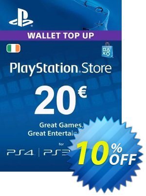 PlayStation Network (PSN) Card - 20 EUR (Ireland) discount coupon PlayStation Network (PSN) Card - 20 EUR (Ireland) Deal - PlayStation Network (PSN) Card - 20 EUR (Ireland) Exclusive Easter Sale offer for iVoicesoft