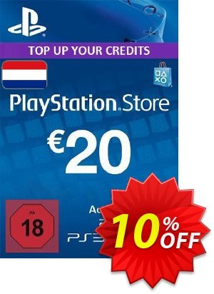 PlayStation Network (PSN) Card - 20 EUR (Netherlands) discount coupon PlayStation Network (PSN) Card - 20 EUR (Netherlands) Deal - PlayStation Network (PSN) Card - 20 EUR (Netherlands) Exclusive Easter Sale offer for iVoicesoft