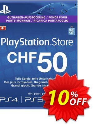 PlayStation Network (PSN) Card - 50 CHF (Switzerland) discount coupon PlayStation Network (PSN) Card - 50 CHF (Switzerland) Deal - PlayStation Network (PSN) Card - 50 CHF (Switzerland) Exclusive Easter Sale offer for iVoicesoft