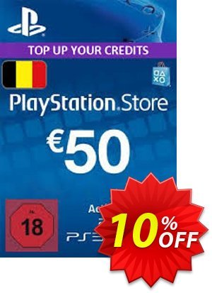 PlayStation Network (PSN) Card - 50 EUR (Belgium) discount coupon PlayStation Network (PSN) Card - 50 EUR (Belgium) Deal - PlayStation Network (PSN) Card - 50 EUR (Belgium) Exclusive Easter Sale offer for iVoicesoft