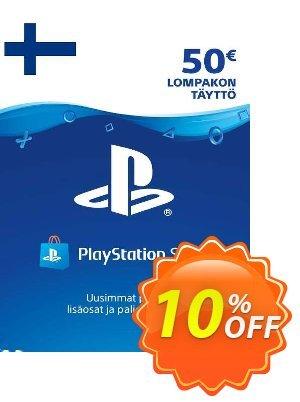 Playstation Network (PSN) Card 50 EUR (Finland) discount coupon Playstation Network (PSN) Card 50 EUR (Finland) Deal - Playstation Network (PSN) Card 50 EUR (Finland) Exclusive Easter Sale offer for iVoicesoft
