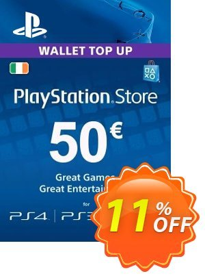 PlayStation Network (PSN) Card - 50 EUR (Ireland) discount coupon PlayStation Network (PSN) Card - 50 EUR (Ireland) Deal - PlayStation Network (PSN) Card - 50 EUR (Ireland) Exclusive Easter Sale offer for iVoicesoft