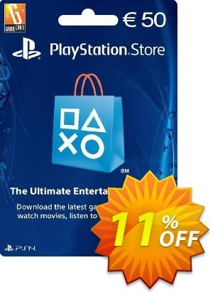 PlayStation Network (PSN) Card - 50 EUR (Netherlands) discount coupon PlayStation Network (PSN) Card - 50 EUR (Netherlands) Deal - PlayStation Network (PSN) Card - 50 EUR (Netherlands) Exclusive Easter Sale offer for iVoicesoft