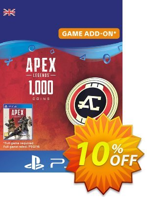 Apex Legends 1000 Coins PS4 (UK) discount coupon Apex Legends 1000 Coins PS4 (UK) Deal - Apex Legends 1000 Coins PS4 (UK) Exclusive Easter Sale offer for iVoicesoft