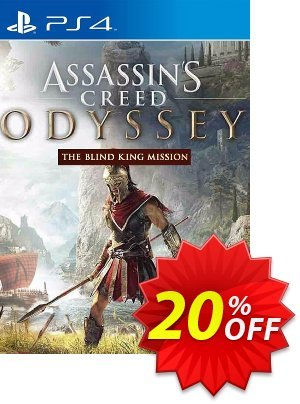Assassins Creed: Odyssey The Blind King DLC PS4 discount coupon Assassins Creed: Odyssey The Blind King DLC PS4 Deal - Assassins Creed: Odyssey The Blind King DLC PS4 Exclusive Easter Sale offer for iVoicesoft