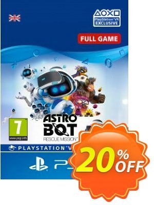 Astro Bot Rescue Mission VR PS4 優惠券,折扣碼 Astro Bot Rescue Mission VR PS4 Deal,促銷代碼: Astro Bot Rescue Mission VR PS4 Exclusive Easter Sale offer for iVoicesoft