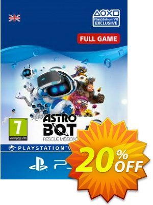 Astro Bot Rescue Mission VR PS4 Coupon, discount Astro Bot Rescue Mission VR PS4 Deal. Promotion: Astro Bot Rescue Mission VR PS4 Exclusive Easter Sale offer for iVoicesoft