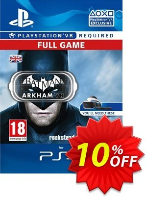Batman Arkham VR PS4 discount coupon Batman Arkham VR PS4 Deal - Batman Arkham VR PS4 Exclusive Easter Sale offer for iVoicesoft