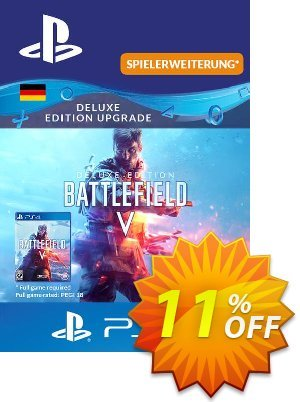 Battlefield 5 Deluxe Upgrade PS4 (Germany) discount coupon Battlefield 5 Deluxe Upgrade PS4 (Germany) Deal - Battlefield 5 Deluxe Upgrade PS4 (Germany) Exclusive Easter Sale offer for iVoicesoft