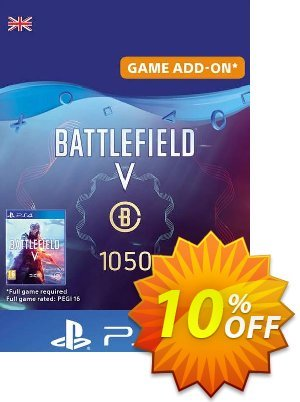 Battlefield V 5 - Battlefield Currency 1050 PS4 (UK) discount coupon Battlefield V 5 - Battlefield Currency 1050 PS4 (UK) Deal - Battlefield V 5 - Battlefield Currency 1050 PS4 (UK) Exclusive Easter Sale offer for iVoicesoft