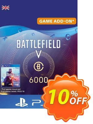 Battlefield V 5 - Battlefield Currency 6000 PS4 (UK) discount coupon Battlefield V 5 - Battlefield Currency 6000 PS4 (UK) Deal - Battlefield V 5 - Battlefield Currency 6000 PS4 (UK) Exclusive Easter Sale offer for iVoicesoft