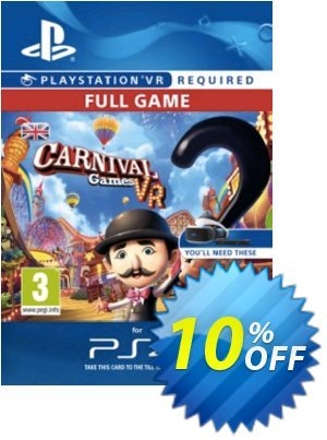 Carnival Games VR PS4 프로모션 코드 Carnival Games VR PS4 Deal 프로모션: Carnival Games VR PS4 Exclusive Easter Sale offer for iVoicesoft