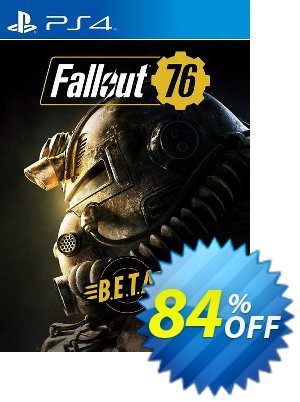 Fallout 76 BETA PS4 discount coupon Fallout 76 BETA PS4 Deal - Fallout 76 BETA PS4 Exclusive Easter Sale offer for iVoicesoft