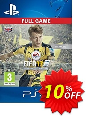 FIFA 17 Super Deluxe Edition PS4 - Digital Code discount coupon FIFA 17 Super Deluxe Edition PS4 - Digital Code Deal - FIFA 17 Super Deluxe Edition PS4 - Digital Code Exclusive Easter Sale offer for iVoicesoft