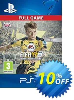 FIFA 17 Super Deluxe Edition PS4 - Digital Code Coupon discount FIFA 17 Super Deluxe Edition PS4 - Digital Code Deal