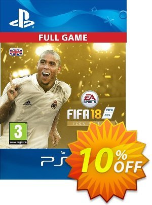 FIFA 18: ICON Edition PS4 UK 優惠券,折扣碼 FIFA 18: ICON Edition PS4 UK Deal,促銷代碼: FIFA 18: ICON Edition PS4 UK Exclusive Easter Sale offer for iVoicesoft